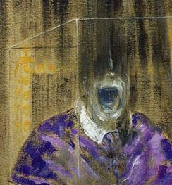 detail, Francis Bacon, Head IV, 1949